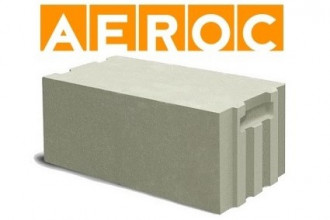 Газобетонные блоки AEROC EcoTerm (D400) 375*250*625 мм
