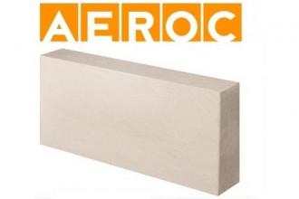 Газобетонные блоки AEROC EcoTerm (D400) 100*250*625 мм
