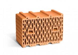 Поризованный рядовой блок RAUF Therme 10,7 NF теплый М75/100 380*250*219