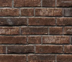 Клинкерная плитка под кирпич Stroher Steinlinge 377 platinbraun