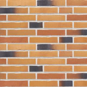 Клинкерная фасадная плитка под кирпич Stroher Handstrich 391 ockererz