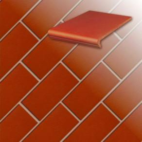 Клинкерная напольная плитка Stroeher Classics 361-naturrot, 240*115*10 мм