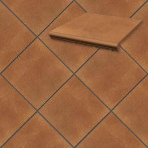 Напольная клинкерная плитка Paradyz, Aquarius Brown 300*300*11 мм