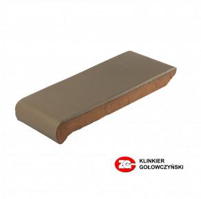 Клинкерные водоотлив для оформления окон ZG-Klinker коричневый