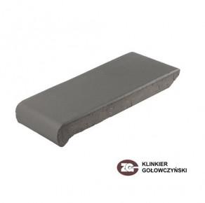 Клинкерные водоотлив для оформления окон ZG-Klinker темно-коричневый