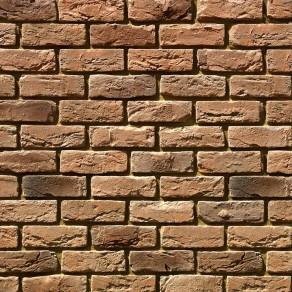 Облицовочный камень под кирпич ручной формовки Бремен Брик 305-40