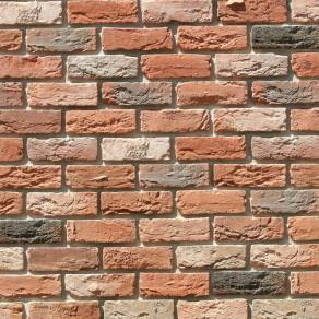 Облицовочный камень под кирпич ручной формовки Бремен Брик 305-50