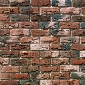 Облицовочный камень под кирпич ручной формовки Бремен Брик 306-70