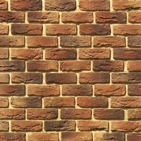 Облицовочный камень под кирпич ручной формовки Бремен Брик 308-40