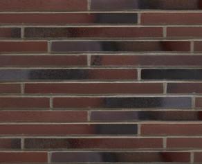Клинкерная плитка под кирпич ригель формата Stroher RIEGEL 50 455 braun-blau