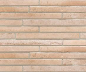 Клинкерная плитка под кирпич ригель формата Stroher RIEGEL 50 454 creme-weiss