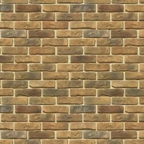 Облицовочный камень под кирпич ручной формовки Лондон Брик 300-40