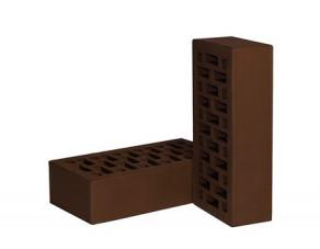 Кирпич лицевой пустотелый НЗКМ, шоколадный 250*120*65 мм