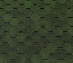 Гибкая черепица TEGOLA TOP SHIGLE, Смальто (зелёный)