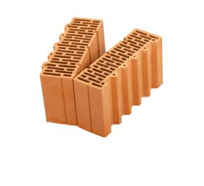 Керамические блоки Porotherm 38 1/2 доборный поризованный 10,67 NF