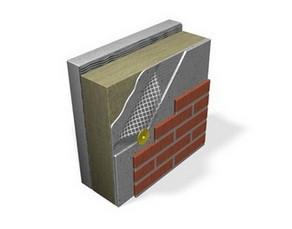 Теплоизоляция для фасадов с клинкерной плиткой