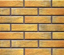 Фасадные термопанели с клинкерной плиткой Loft Brick Curry