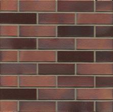 Клинкерный облицовочный кирпич Muhr L04EG Rotbraun Bunt Edelglanz WF, 210*100*50