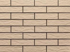 Клинкерная фасадная плитка под кирпич Cream Rustic 240*65*6.5 мм