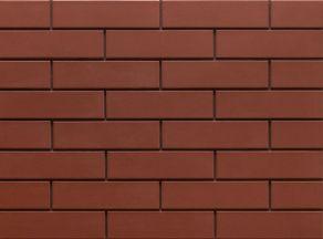 Клинкерная фасадная плитка под кирпич Burgund 240*65*6.5 мм