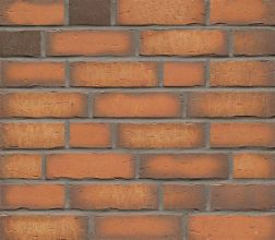 Клинкерная фасадная плитка Feldhaus Klinker R758 Vascu terracotta NF14, 240*14*71 мм