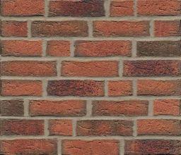 Фасадные термопанели с клинкерной плиткой Feldhaus Klinker R687 Sintra terracotta linguro