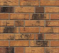 Фасадные термопанели с клинкерной плиткой Feldhaus Klinker R286 Nolani viva rustico carbo