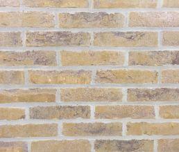 Облицовочный кирпич ручной формовки Randers Tegl RT 454 rustica giallo handformziegel