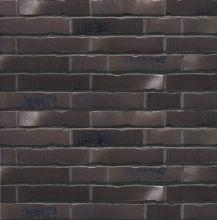 Клинкерная фасадная плитка под кирпич Stroher Handstrich 394 schwarzkreide