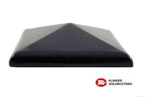 Колпак для забора керамический ZG-Clinker темно-коричневый