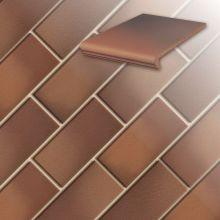Клинкерная напольная плитка Stroeher Classics 345-naturrot-bunt, 240*115*10 мм