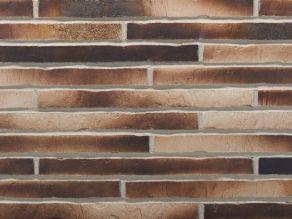 Клинкерная плитка под кирпич ригель формата Stroher RIEGEL 50 451 gold-braun